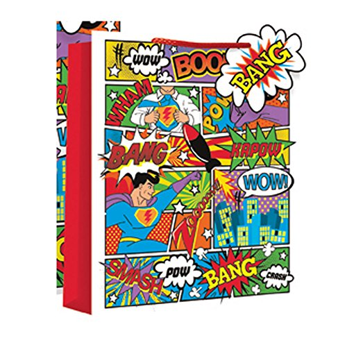 Party Großhändler EUROWRAP Comic Bags - Large