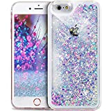 Coque iPhone SE,Coque iPhone 5S,Coque iPhone 5,Liquide Flux Diamant Mousseux Shiny...
