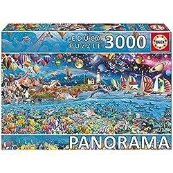 Educa Borrás - 3000 Vida Panorama, puzzle (17132)