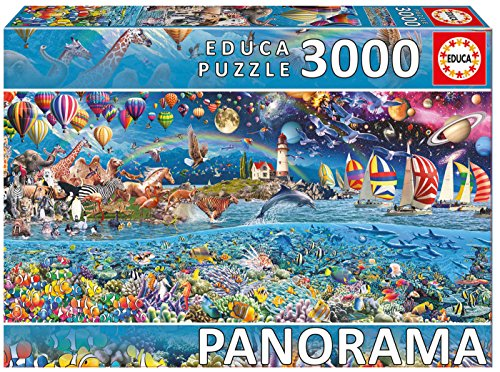 Educa Borrás 3000 Vida Panorama, puzzle (17132)