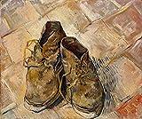 Vincent Van Gogh Giclee Arte Carta Stampa Opere d'Artee Dipinti Poster Riproduzione(Scarpe)