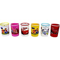 Perpetual Bliss (Pack of 6) Disney Theme Glasses for Kids / Birthday Return Gifts