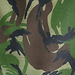 3M longitud de Woodland camuflaje tela