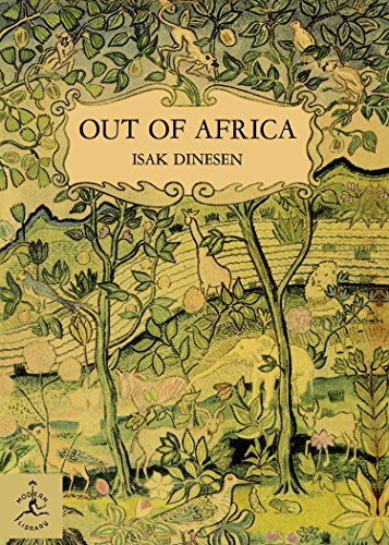 Out of Africa (Modern Library) por Isak Dinesen