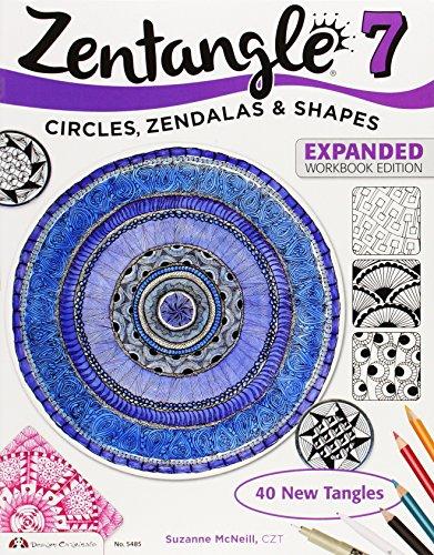 Zentangle 7: Inspiring Circles, Zendalas & Shapes por Suzanne McNeill