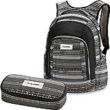 DAKINE 2er SET Rucksack Schulrucksack Laptop FRANKIE + SCHOOL CASE Mäppchen Zion