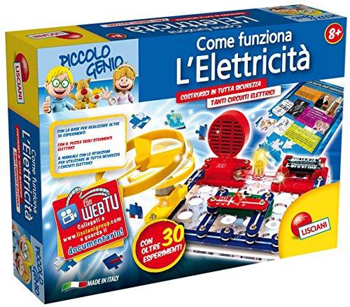 Lisciani 46331 - piccolo genio come funziona l'elettricita'