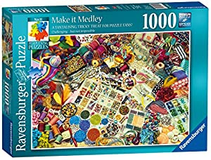 Ravensburger Perplexing Puzzles No.11 - Make it Medley, Puzzle de 1000 Piezas