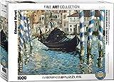 "Eurographics ""Edouard Manet Le Grand Canal / Venecia bleu"" Puzzle (1000 piezas, Multi-Color)"