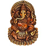 AapnoCraft Indian God Ganesha Wall Hanging Ganesh Wall Mask Ganpati Blessing Idols Home & Office Decor Wedding Gifts