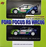 1/64 Rally Car Collection Ford Focus RS WRC 2006 A set (65 195) (japan import)