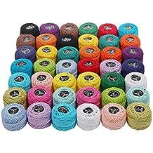 hilo de algodon crochet - Envío gratis - Amazon.es