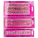 Windsor Clikstix Kleine (Cupcake) Fondant Ausstechformen–Full Set Buchstaben und Zahlen