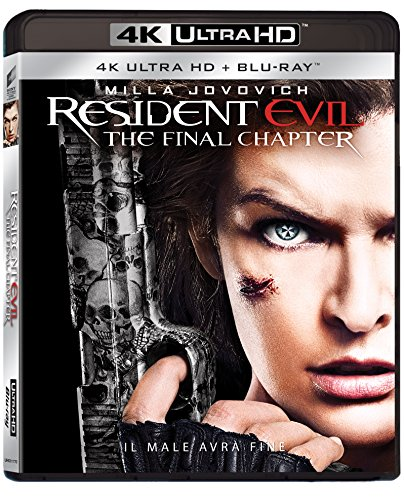 Resident Evil: The Final Chapter (4K+Br)