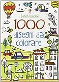 1000 disegni da colorare. Ediz. illustrata