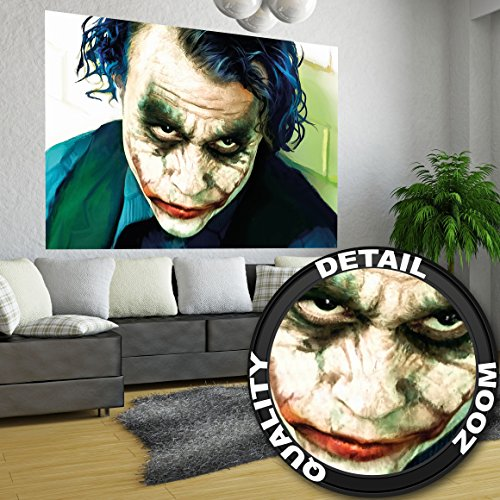 poster-joker-murale-decorazione-heath-ledger-bathman-il-cavaliere-oscuro-clown-film-gotham-il-cattiv