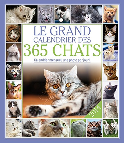 GRAND CALENDRIER 365 CHATS 2014