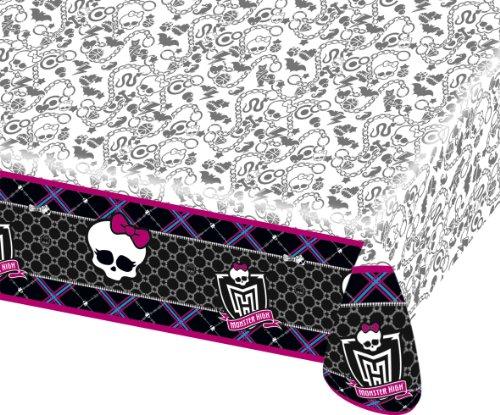Monster High - R552249 - Vaisselle - Nappe Pliée Plastique - 120 X 180 Cm
