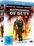 DVD Cover 'Battlefield of Duty 3D (The Front Line/Coriolanus/Heroes of War)(3 Disc Set) [3D Blu-ray]