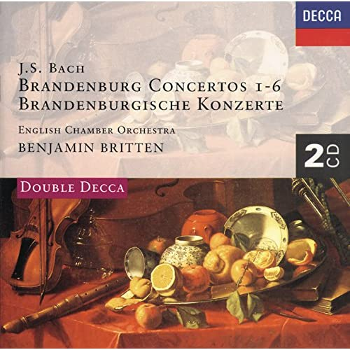 J.S. Bach: Concerto for 2 Harpsichords, Strings, and Continuo in C minor, BWV 1060 - performing edition by C. Hogwood for violin, oboe and strings - 2. Adagio
