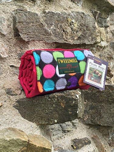 punto-brillante-y-rosa-impermeable-alfombra-de-picnic-ligera-y-suave-con-handy-correa