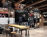 BZDHWWH Benutzerdefinierte 3D Tapete HD Seidige Tuch Fitness Bodybuilding Schönheit Hübscher Kerl Foto Wand Hintergrund Wand 3D Wallpaper,230cm (H) x 345cm (W)