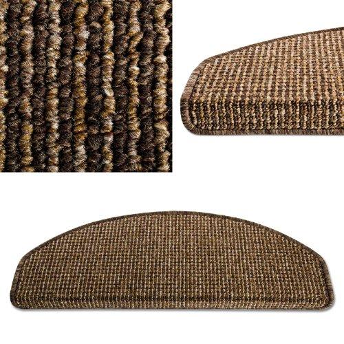 Stufenmatten Set London - 15 Stück - Cocoa