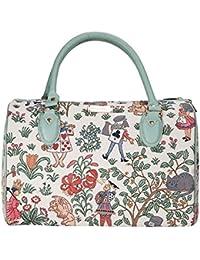 Alice in Wonderland Travel Bag by Signare | Overnight Luggage | 184x75x0 cm | (TRAV-ALICE)