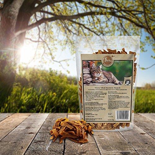 Tiera Vital fettarme Katzenleckerlies Hähnchen mit Grünlipp-Meermuschel
