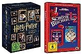 Harry Potter Box Komplettbox Teil 1-7 (1+2+3+4+5+6+7.1+7.2) [8 DVDs] Alle Teile + Schöne Bescherung 1 & 2 [2 DVDs] Teil 1+2