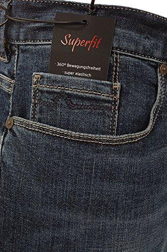 Alberto Herren Jeans Pipe stone blue Jeansblau