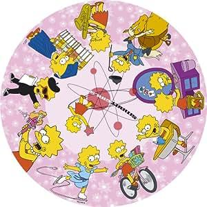 The Simpsons CC137 Lisa Montage Circular Jigsaw 500 pcs