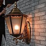 Avanthika E27 Wandlampe Antik Vintage Metall Retro Wandleuchte Wandleuchten Balkon Off Road Lampen Wandleuchten Außentreppe