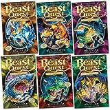 Beast Quest: Series 12 Pack, 6 books, RRP £29.94 (Solak; Kajin; Issrilla; Vigrash; Mirka; Kama).