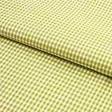 Hans-Textil-Shop Stoff Meterware, Vichy Karo 2x2 mm,