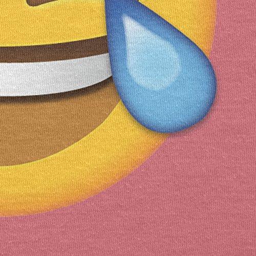 Texlab–Tears Of Joy Emoji–sacchetto di stoffa Pink