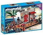 Playmobil Fuerte pirata, super...
