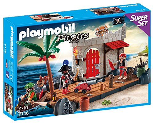 PLAYMOBIL   FUERTE PIRATA  SUPERSET (61460)