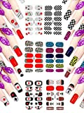 3d adhesiva de uñas Adhesivos Pegatinas decoración beso Animal ancla para las mujeres niñas adolescentes Niñas Niños