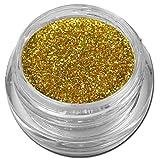 Hologramm Glitzer Glitter Puder Gold Holo Nailart