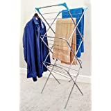 CLASSY 'N' COZY New Foldable Clothes Drying Stand with Weather Resistant Frame (Lace)