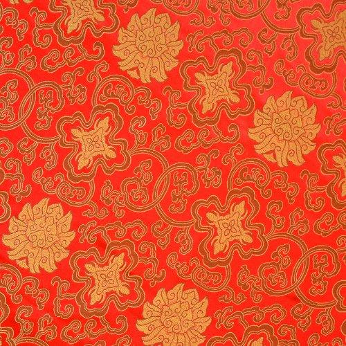 g277-0,6Yard (0,5m)-Stoff Brokat Woven feiner Stickerei-Patchwork Stoff Quilten Stoff Handwerk -