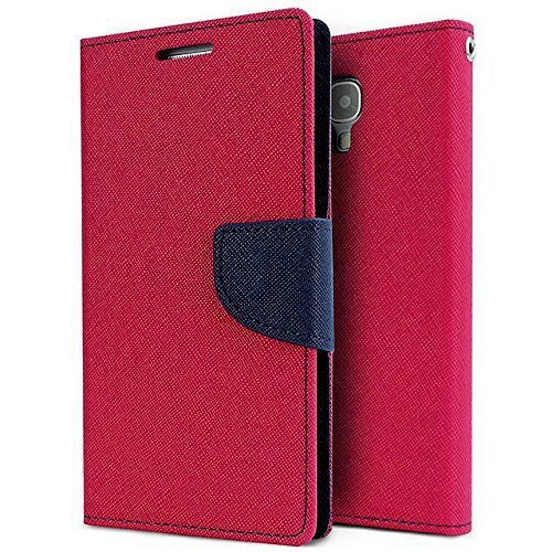 Flip Cover for Htc Desire 820 Original Premium PU Leather Flip Diary Card Pocket Designer Case Cover Stand with Screen Film Protector By 1by1  available at amazon for Rs.179
