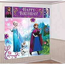 Frozen pared decoración kit (paquete de 5)