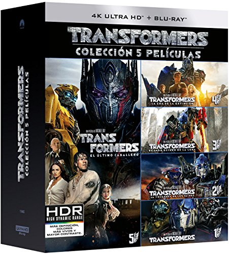 Pack: Transformers 1-5 (4K UHD + BD) [Blu-ray]