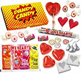 Valentines Sweets & Candy Gift Box - The Perfect Affordable Gift For Those You Love - Letterbox Friendly Gift Box
