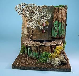 krippenzubeh r brunnen wasserbrunnen mit wasserpumpe 220v w1377. Black Bedroom Furniture Sets. Home Design Ideas