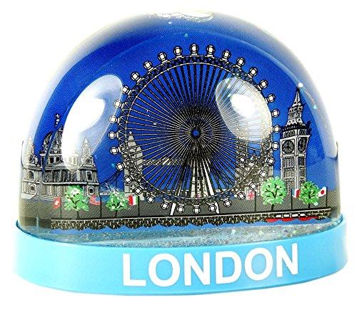 Snowstorms Schneekugel mit London-Motiv, Souvenir zum Sammeln, plastik, London Wheel, Large