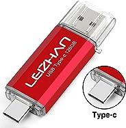 LEIZHAN Type-C Flash Drive USB 3.0 128GB 64GB 32GB 16GB USB Flash Drive Type-C 3.1 for Huawei Type C Devices Flash Drive USB