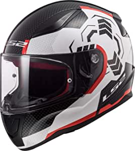 Ls2 Ff353 Rapid Ghost Helm Xxxl Auto